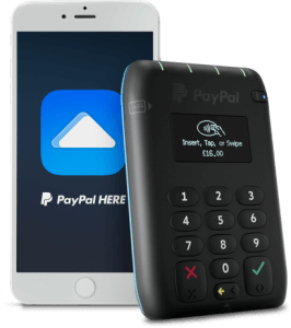 paypalhere card reader