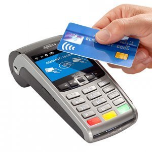 contactless card machine