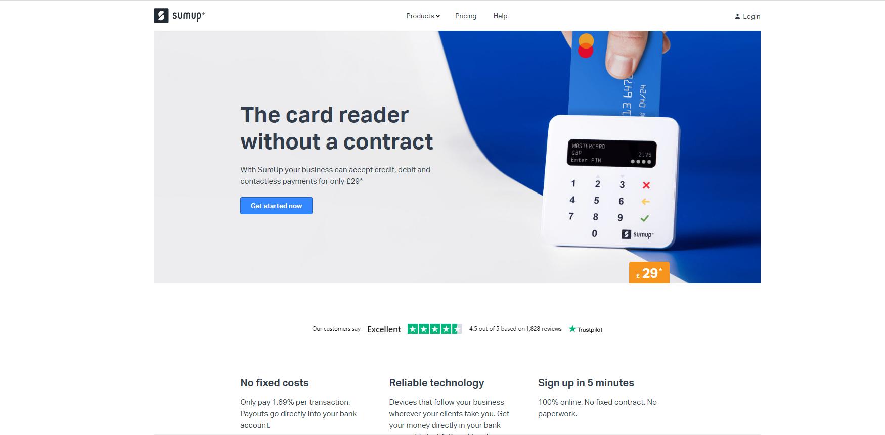 SumUp Card Reader Review 3